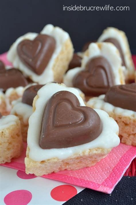 Chocolate Cabbie It Or It by White Chocolate Reese S Krispie Hearts Recipe