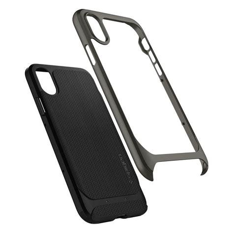 Spigen Neo Hybrid For Iphone X Gunmetal Limited spigen 174 neo hybrid 057cs22165 iphone x gunmetal spaceboy