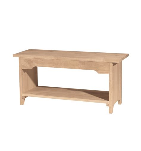 30 Inch Storage Bench by 36 Inch Brookstone Benches Bare Wood Wood