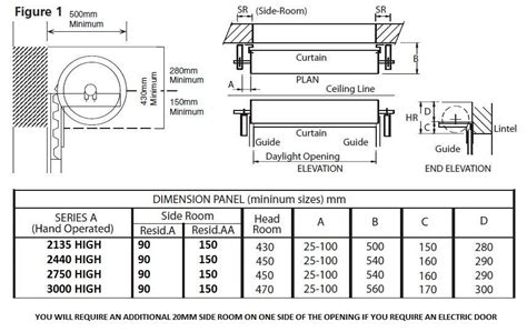 Overhead Door Specifications Gliderol Single Skin Roller Garage Door Manual Opening Roller Shutter Doors