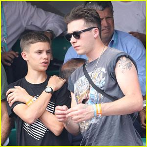 romeo beckham rafael nadal brooklyn romeo beckham enjoy a day at the french open
