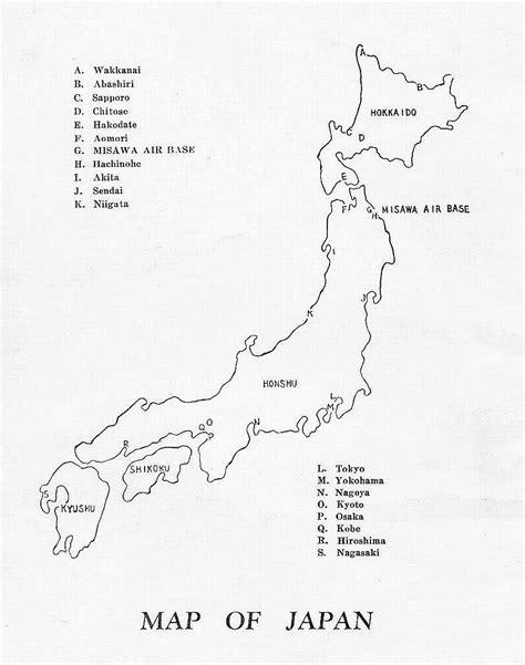 printable maps japan printable map of japan