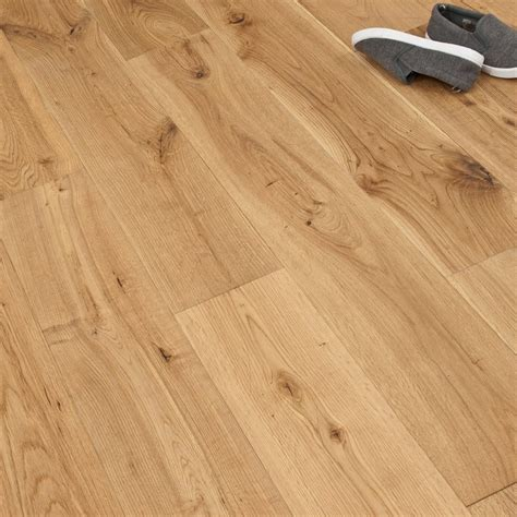 gold series oak brushed and lacquered 150mm wood flooring