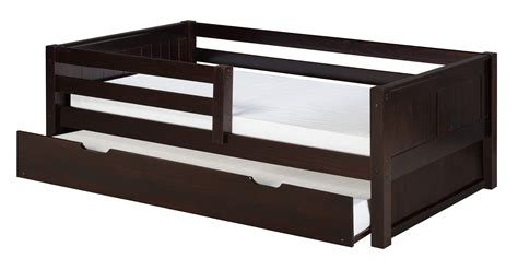 bed rail for twin bed camaflexi twin size day bed with front guard rail twin