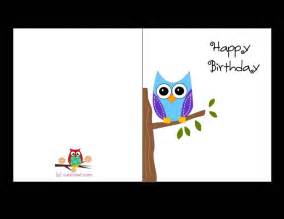 free birthday card templates free printable birthday cards for template