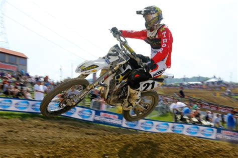 High Point Pro 34 results sheet high point motocross feature stories