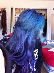 indigo hair color blue indigo hair hair and beuty blue