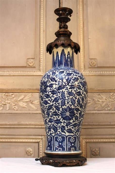 white porcelain l base large blue and white porcelain l base with