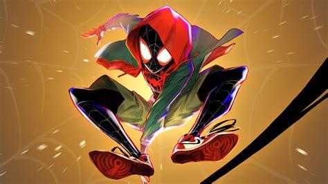 wallpaper miles morales fan art spider man