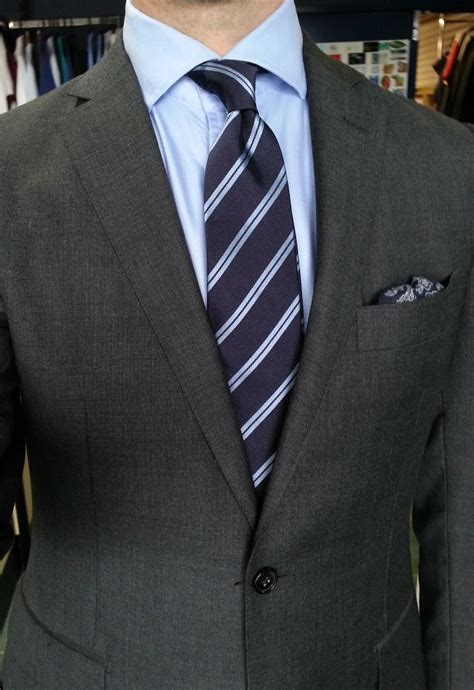 ties with lights grey suit light blue shirt navy tie with light blue