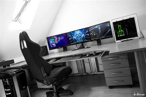 Grand Bureau Gamer Le Blog Des Geeks Et Des Gamers Bureau Gamer
