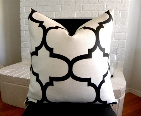 Black And White Sofa Pillows Black And White Pillows Decorative Best Decor Things