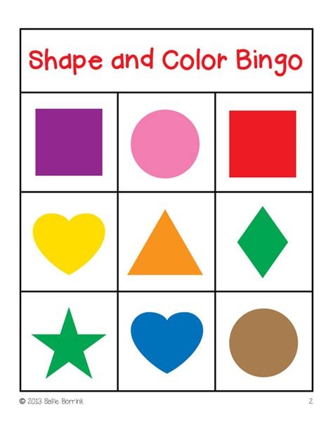 shape flash cards templater bingo clip 46