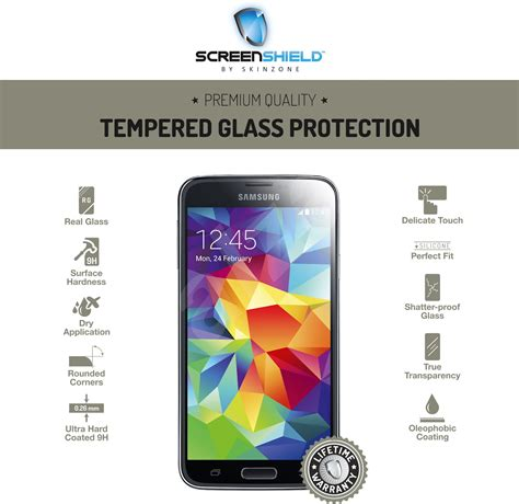 Tempered Glass Samsung Galaxy S5 1 screenshield tempered glass samsung galaxy s5 tempered