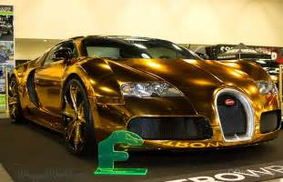 Gold Plated Bugatti Price Bugatti Veyron Gold Wrapped For Us Rapper Flo Rida