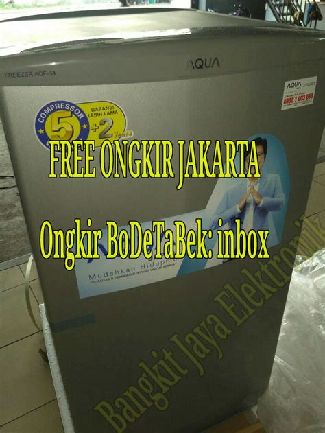 Freezer Sanyo 4 Rak jual aqf s4 freezer 4 rak sanyo haier aqfs4 bangkit jaya elektronik