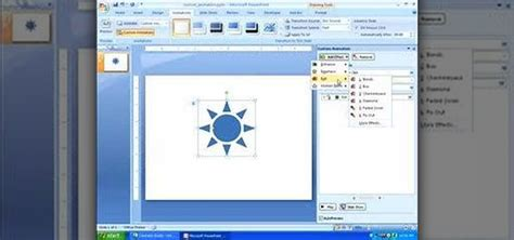 powerpoint 2007 animating text and objects full page