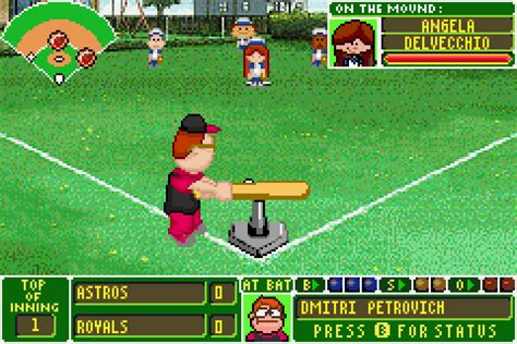 backyard baseball gba backyard baseball download game gamefabrique