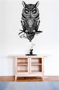 Wall Sticker Owl amazing owl large wall decal sticker wall stickers