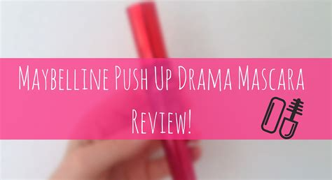 Mascara Push Drama no nonsense push up drama mascara review
