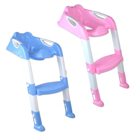 Potty Stool For Toddler by Toilet Potty Trainer Seat Chair Toddler With Ladder Step Up Stool Ebay