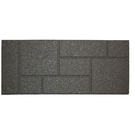 100 recycled rubber tiles home depot recycled rubber