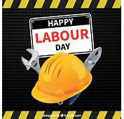 Happy Labour Day Background Of Helmet Vector  Free Download