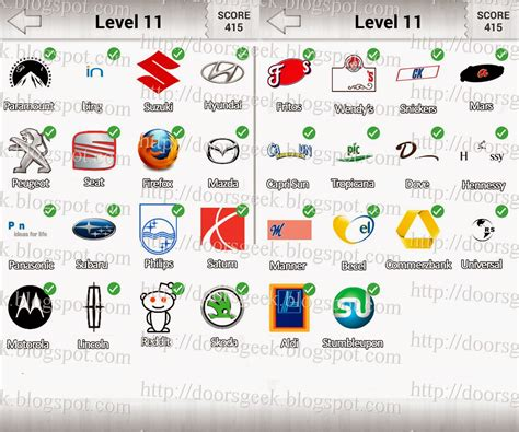 logo quiz level 11 by 05 07 14 doors