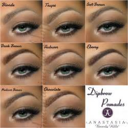 brow color beverly dipbrow pomade brown and