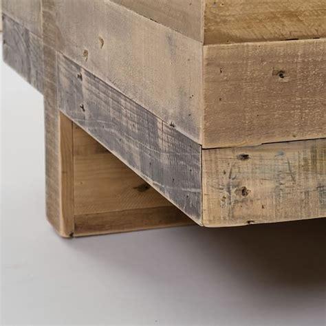 wood block side table emmerson 174 reclaimed wood block side table elm