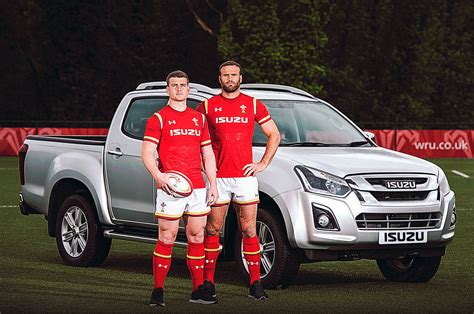 isuzu wales rugby sponsorship commercial vehicle dealer