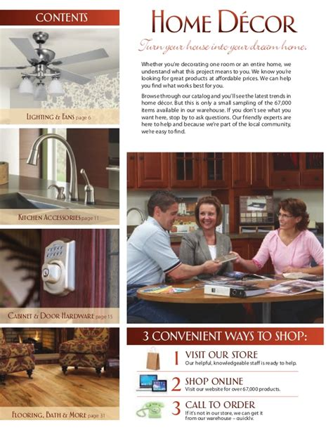 Catalog Home Decor Western Building Center Home Decor Catalog