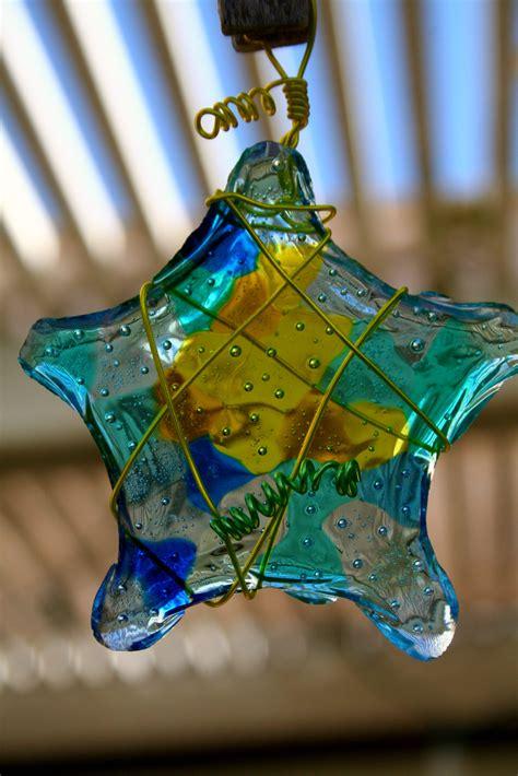 melted plastic bead suncatcher car interior design