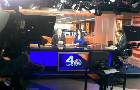 studio four nyc nbc new york in the final stages of refresh newscaststudio