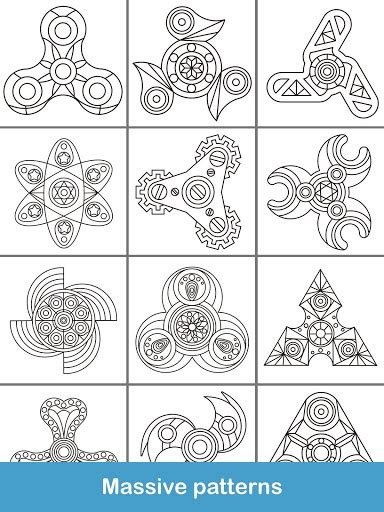 fidget spinner coloring books  apk androidappsapkco
