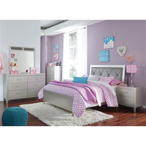 bedroom groups signature design by ashley olivet glam full bedroom group