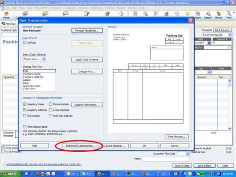 landscape orientation quickbooks how to save money by printing your quickbooks invoices on