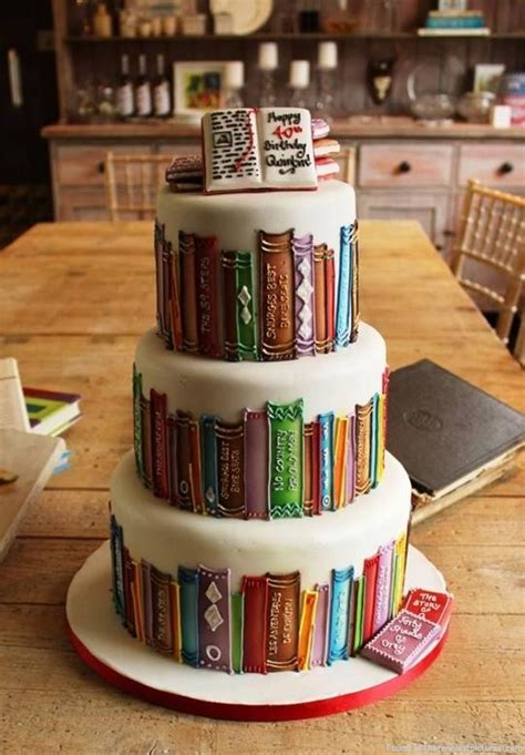 the birthday books a birthday cake for book lover funniest pictures
