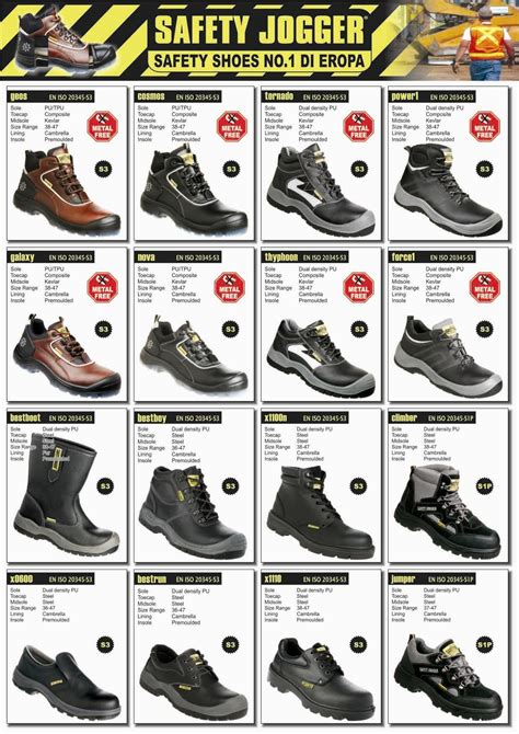 Sepatu Safety Jogger Best Fit safety jogger safety shoes sepatu
