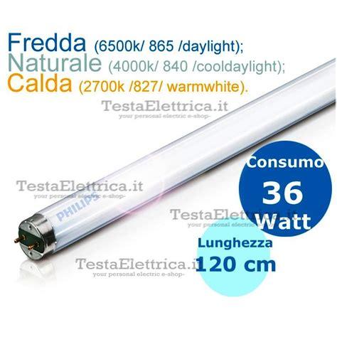 Lu Neon Philips 20 Watt neon lineare philips master tl d 36w 865 840 827 120cm