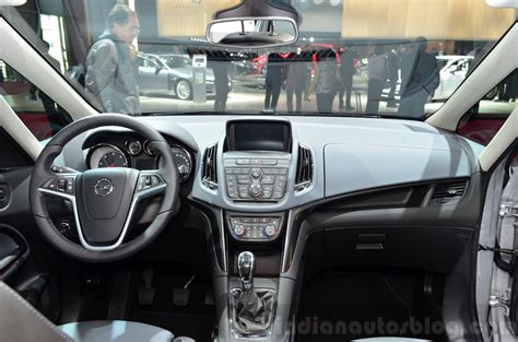 opel zafira 2015 interior 2015 opel zafira tourer 2 0 litre cdti interior at the