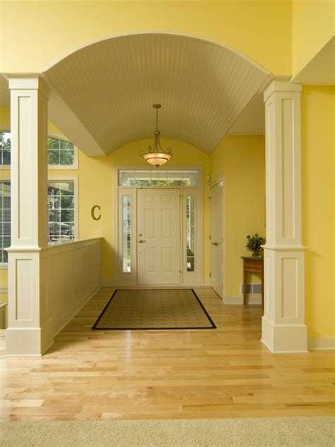 Half Wall Between Living Room And Foyer Half Wall Design Pictures Remodel Decor And Ideas