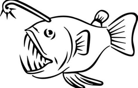 lantern fish coloring pages image gallery lantern fish angler fish
