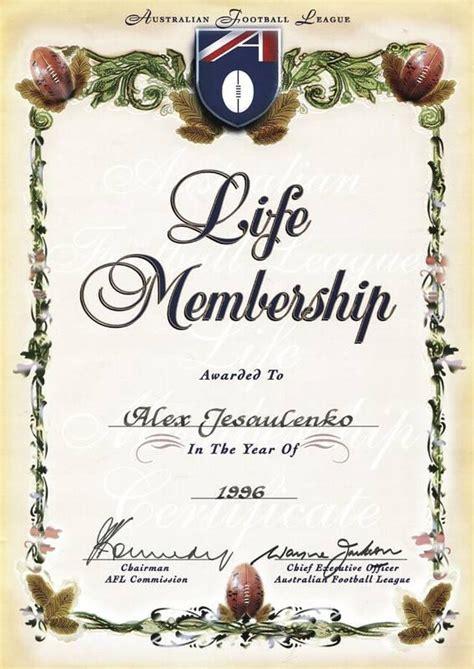 life membership certificate templates membership certificate template templates data