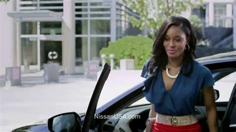 who is the black actress in the viagra commercial nissan altima commercial black actress from
