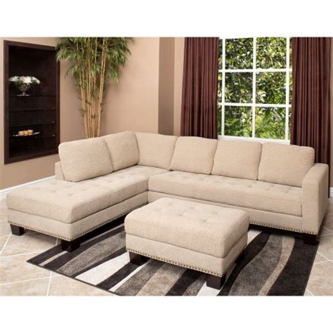 richmond fabric sectional richmond fabric sectional and ottoman 2299 costco