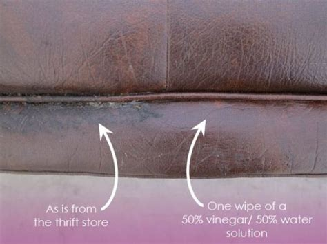 clean leather couch with vinegar the best way to clean leather is a 50 vinegar 50 water
