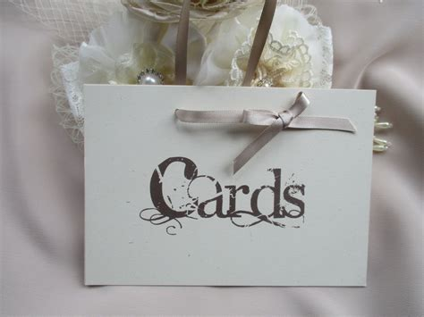 vintage style wedding cards handmade wedding cards sign vintage style with ribbon hanger