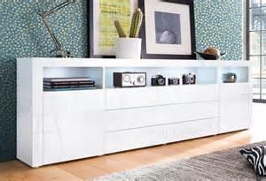 otto kommode weiß hochglanz sideboard breite 200 cm kaufen otto
