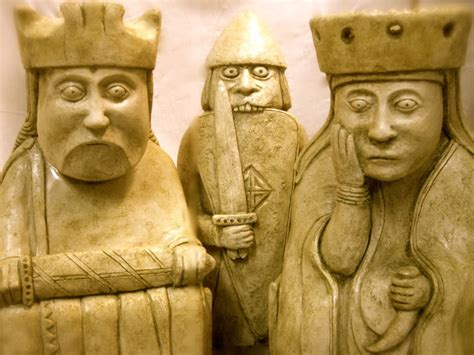 The Lewis Chessmen darth vader mona and the golden margins of error golden calipers